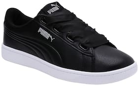 Puma Black Girls Casual Shoes