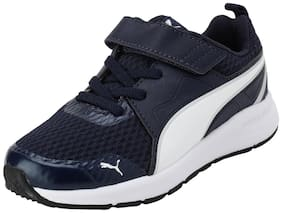 Puma Navy Blue Unisex Kids Sport shoes