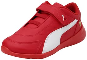 Puma Red Unisex Kids Casual shoes