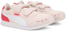 Puma Pink Unisex Kids Casual shoes