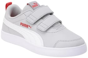 Puma Grey Unisex Kids Casual shoes