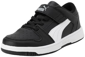Puma Black Unisex Kids Casual shoes