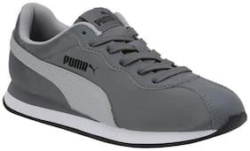 Puma Grey Unisex Kids Casual shoes