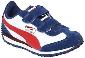 Puma Blue Unisex Kids Casual shoes
