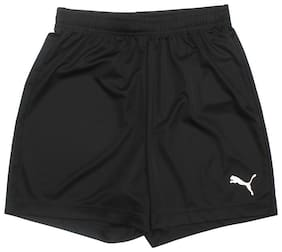 Puma Boy Solid Shorts & 3/4ths - Black