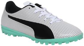 Puma White Unisex Kids Sport shoes