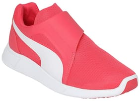 Puma Pink Casual Shoes For Infants
