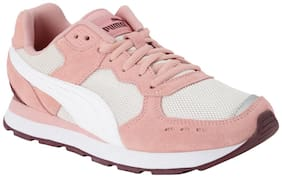 Puma Pink Canvas shoes for boys