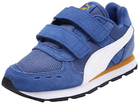 Puma Blue Unisex Kids Casual shoes