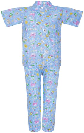 Punkster Nightwear For Boy (Blue)