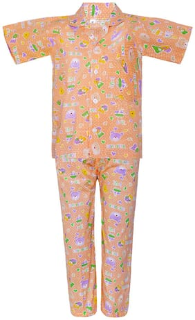 Punkster Nightwear For Boy (Orange)