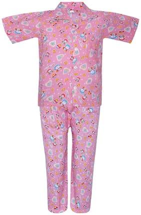 Punkster Nightwear For Boy (Pink)