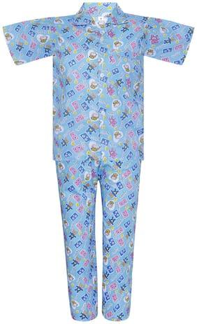 Punkster Nightwear For Boy (Blue)