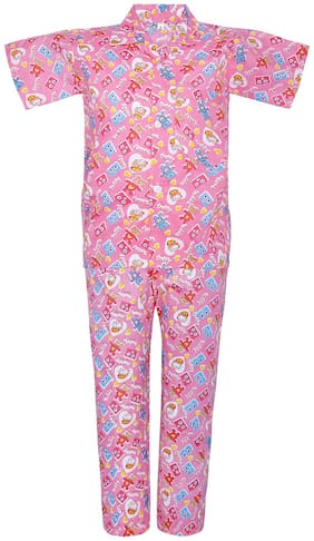 Punkster Nightwear For Boy (Pink)