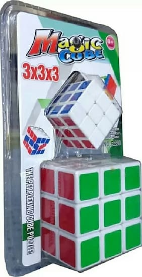PUZZLE,CUBE,MIND SHARP GAME ,LEARNING GAME,MULTICOLOR PACK OF 2
