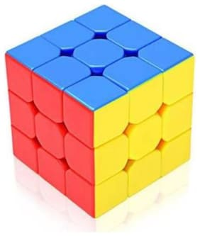 PUZZLE,CUBE,BABYTOY,LEARINNG TOY,STICKERLESS TOY MULTICOLOR,PACK OF 1