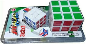 PUZZLE,CUBE,MULTICOLOR,PACK OF 2