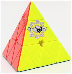 Pyraminx Stickerless Speed Cube Triangle Cube Puzzle