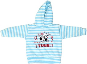 QAMASH kid's latest micky mouse print hoodie