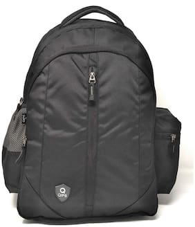 QIPS by HMI 30 L Laptop Bag Backpack | 1000D Polyester | Light Weight | DN1003 (Black)