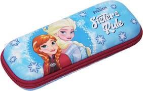 Qips Disney Frozen Art Eva Pencil Box (Set Of 1 Light Blue)