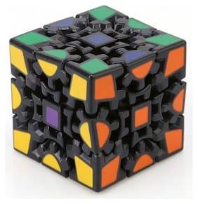 Quick Fingure Magic Gear Cube Black (kuaishouzhi)  (1 pcs) By Signomark.