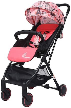 R for Rabbit Pocket Stroller Lite - The Most Portable Stroller (Pink)