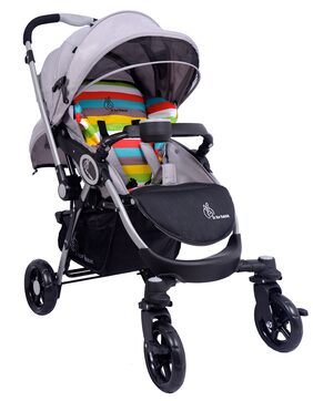 R for Rabbit Multicolor Stroller