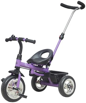 R for Rabbit Tiny Toes Grand- The Smart Plug and Play Tricycle for Kids/Baby(Purple)