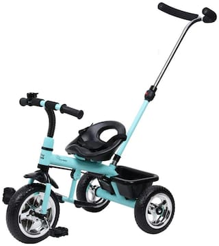 R for Rabbit Tiny Toes Grand Baby/Kids Cycle - Smart Plug & Play Baby Tricycle for Kids/Baby for 1.5 to 5 Years (Lake Blue)