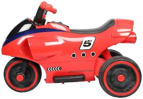 R For Rabbit Apollo - The Spaceship Inspired Electric / Battery Operated Bike / Ride on for Kids (Red)