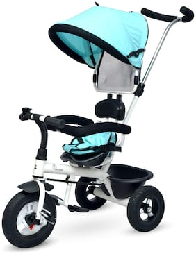 R for Rabbit Tiny Toes Sportz - The Stylish Plug and Play Tricycle for Baby (Now with Rubber wheels)