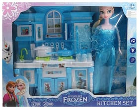 radhe enterprise Frozen Kids Kitchen Set
