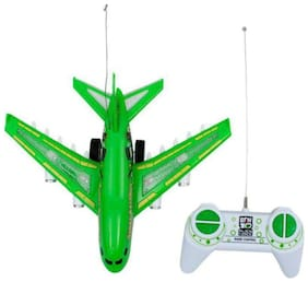 radhe enterprise Latest  Aerobus Remote Plane (Green, White)