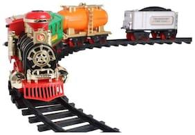 radhe enterprise Multicolor Plastic Train Set