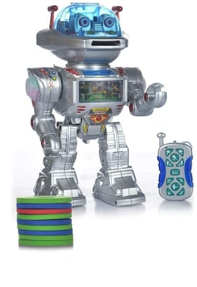 RADHE ENTERPRISE 12Inch Robot IR Radio Control RC Racing Car Kids Toys Toy Gift Remote