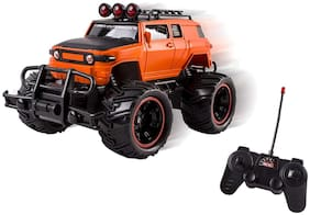RADHE ENTERPRISE Mad Racing Remote Control Hummer Off Road car and Racing car for Kids (Random Color)