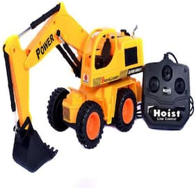radhe enterprise  Remote Control Jcb Construction Loader Excavator Truck Toy