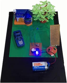 Rain Alarm Working  School Science Exhibition Model , Winning Model for Students, DIY Kit