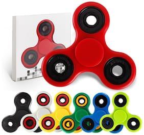 Rainbow LED Fingertip Gyro Fidget Spinner