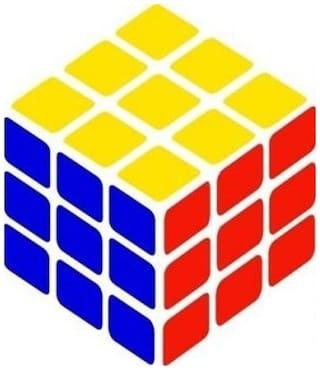 Rana Rubiks Cube toy Smooth kids toy