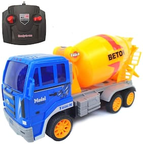 RC Concrete Mixer Truck Construction Toy (Remote Controlled)