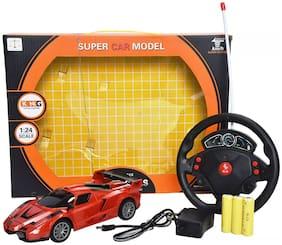 RC Mini Remote Control 1/24 Drift Speed Radio Steering Wheel Racing Car