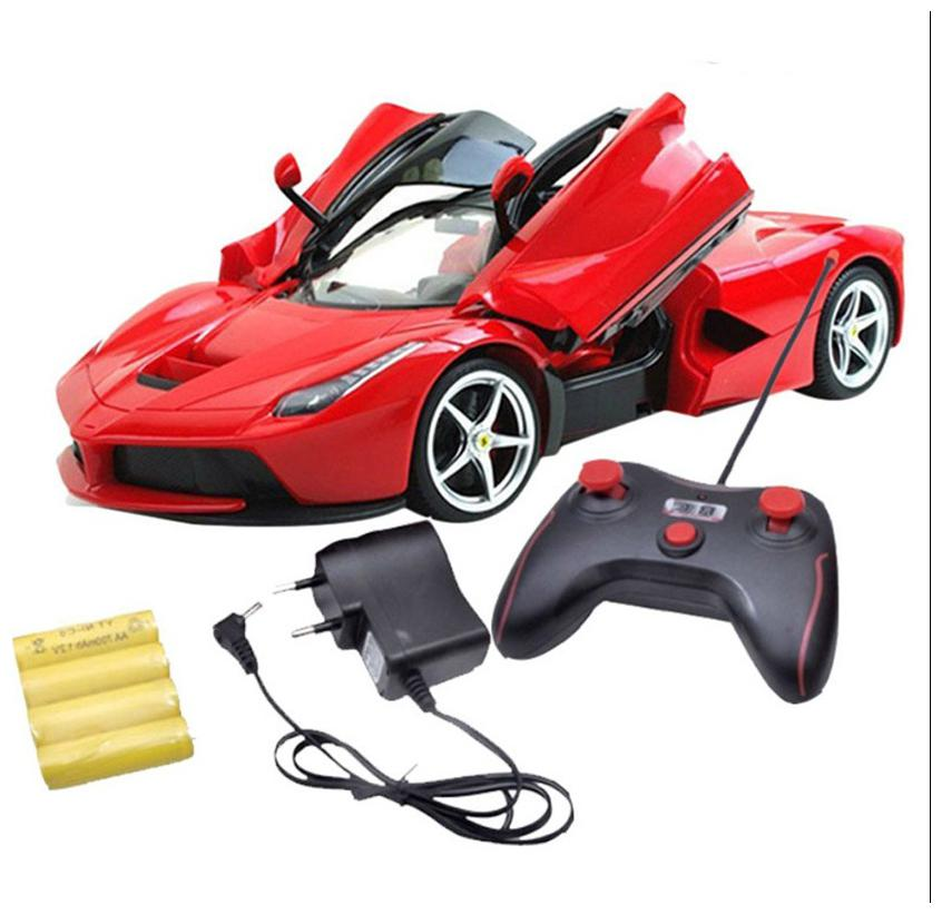 New Pinch Rechargeable Ferrari Style Rc  Car With Opening Doors