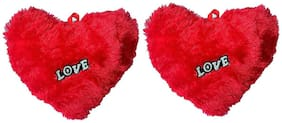Red Ballons - Combo of 2 Heart | Baby Pillow