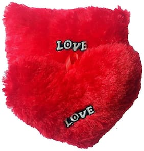 Red Ballons - Combo of 2 Heart | Baby Pillow - Square and Round | Love