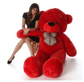 Red Color Soft 3 Feet Teddy Bear 80 cm