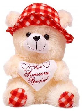 ZOONIO Red Teddy Bear - 30 cm
