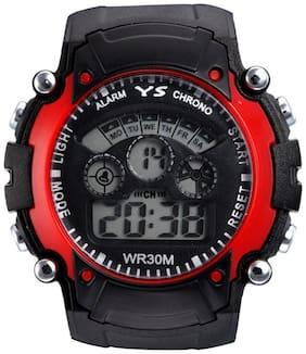 Red Sports Digital watch