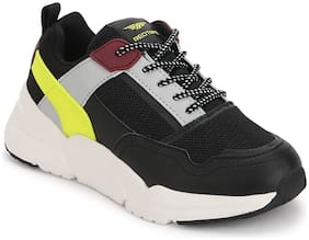 Red Tape Black Unisex Kids Sport shoes